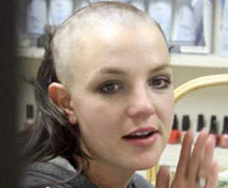 spear shaved why Britney her hair